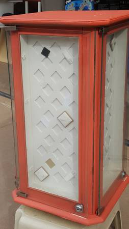 Photo SOLD Jewelry Retail Display Carousel Glass Case with lock  keys - $25 (The Glades, Panama City Beach)