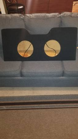 Photo Speaker Box for 2 10 inch subs - $100 (Panama City)