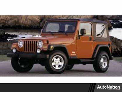 Photo Used 2004 Jeep Wrangler Sport for sale