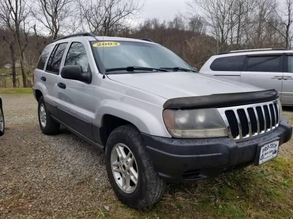 Photo 2003 jeep grand Cherokee - $2500 (Parkersburg)