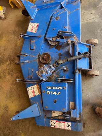 Photo Belly mower - $1,100 (Parkersburg)