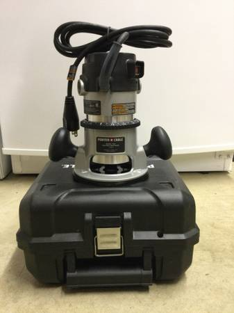 Photo Porter Cable fixed base Router - $100 (Wheelersburg)