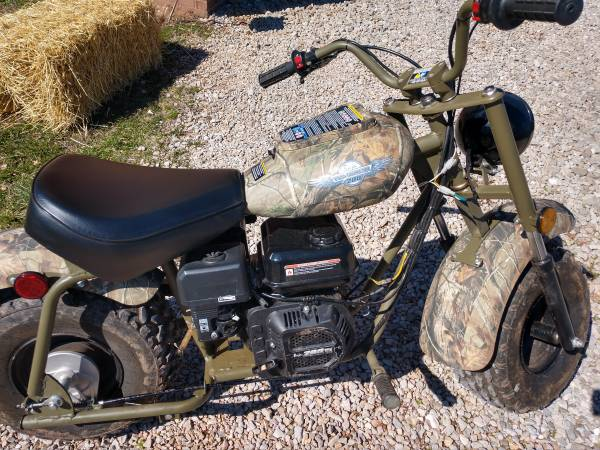 Photo Warrior 200 Baja Mini Bike - $300 (Walker)