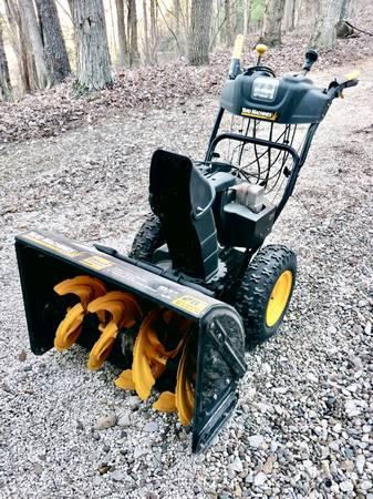 Photo Yard Machine Two-Stage Snow Thrower - $375 (Coshocton, Ohio)