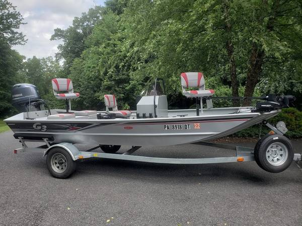 Photo 16 Foot G3 CCJ Deluxe Center Console Tunnel Jet Boat - $21,500 (Morgantown)