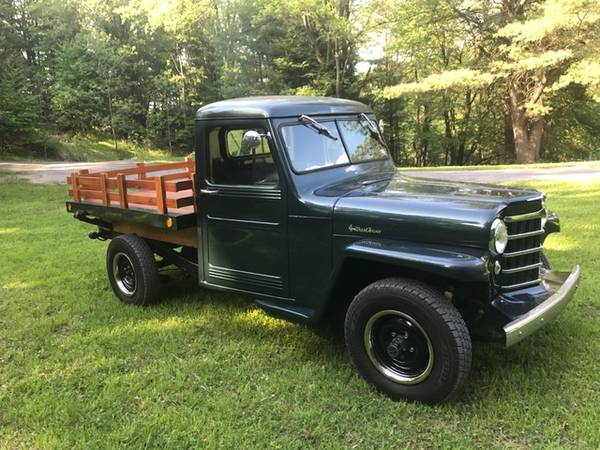 Photo 1951 WILLYS JEEP TRUCK - $19,500 (Spring Mills)