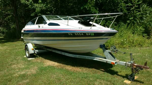 1987 Bayliner Cuddy Cabin 3500 Falls Creek Boats For Sale State College Pa Shoppok