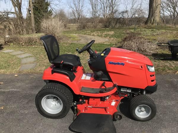 Photo 2013 Simplicity Prestige Garden Tractor - $5,200 (STATE COLLEGE)