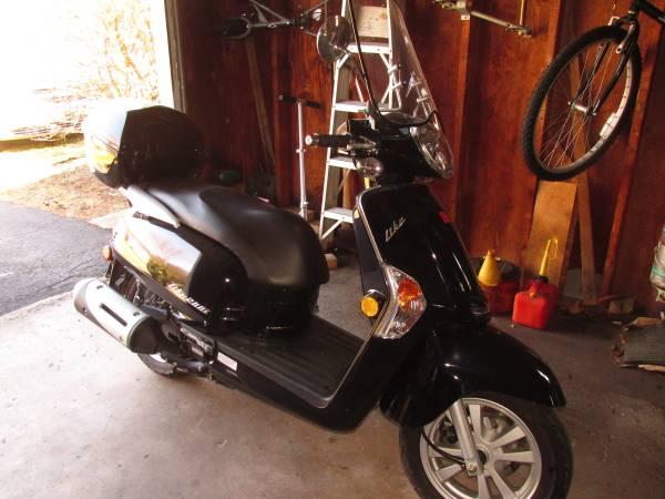 Photo 2014 Kymco Like 200i scooter - $1,600 (Centre Hall)