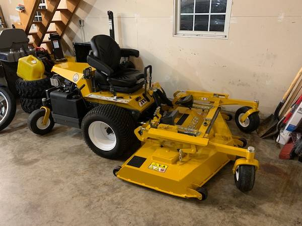 Photo 2018 Walker MH27i - 225 hours - Commercial Lawn Mower with Snow Blower - $14,000 (PORT MATILDA)