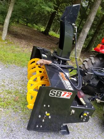 Photo 72quot Snow Blower 3-point Farm Tractor - $3,150 (Woodland)