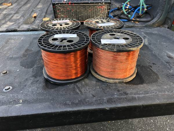 Photo AWG 18 copper magnet wire - $100 (State College Pa)