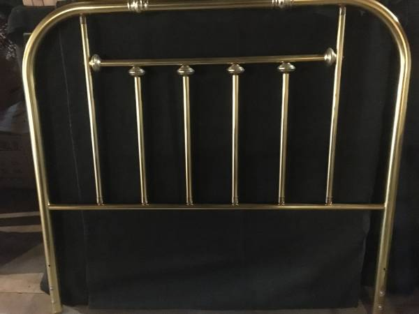Photo BRASS- full size bed headboard - $40 (state college , pa)
