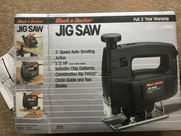 Photo Black and Decker Jig Saw - $12 (State College)