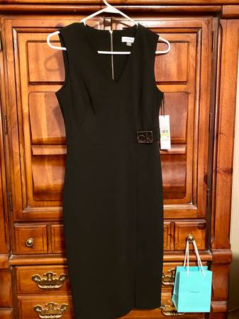 Photo Calvin Klein Little Black Dress (New w Tags) - $60 (State College)