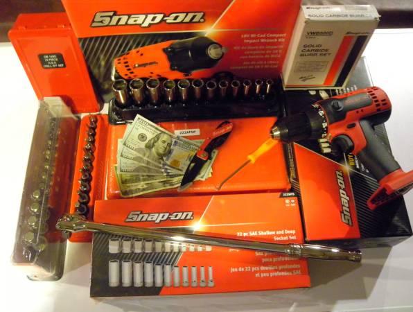 Photo Cash for newused Snap-On, Mac Matco Hand Tools - $500 (Port Matilda)