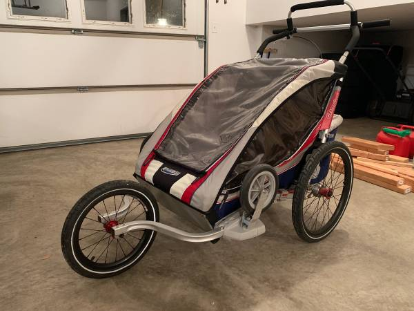 Photo Chariot Carriers (now Thule) CX-2 jogging stroller - $300 (Lemont)