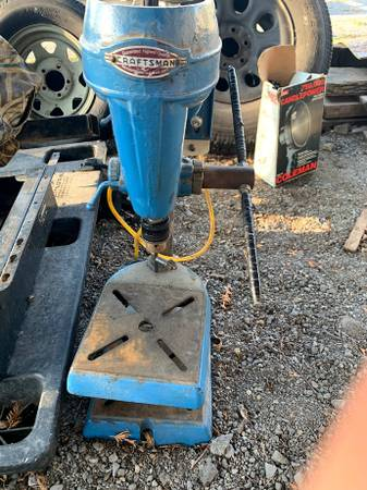 Photo Craftsman Drill Press - $50 (BELLEFONTE)