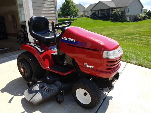 Find Many Great New Used Options And Get The Best Deals For Craftsman Gt 5000 Garden Tractor With 54 Deck At Online Prices Ebay Free