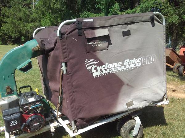 Photo Cyclone Rake (Trac Vac) - $750 (Boalsburg)