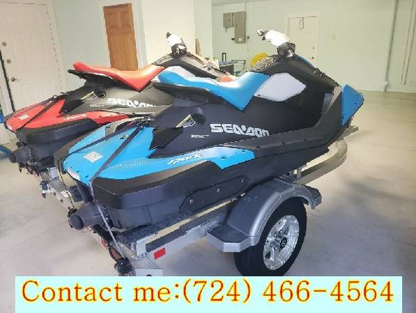 Photo Felling fresh two-zero-one-seven SEA DOO NICE SALE - $1,400 (state college)