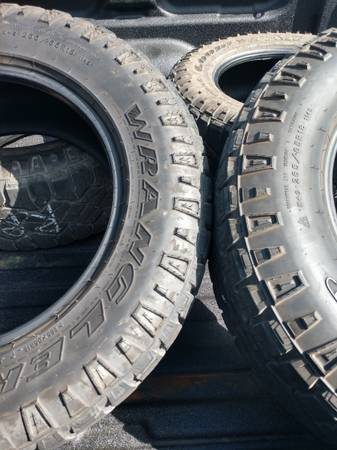 Photo Goodyear Wrangler all terrains - $120 (State College)