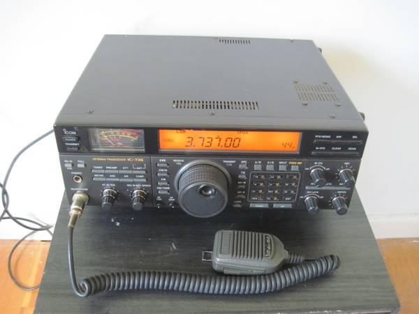Photo Ham Radio Icom IC-736 HF  6m - $475 (College Park)