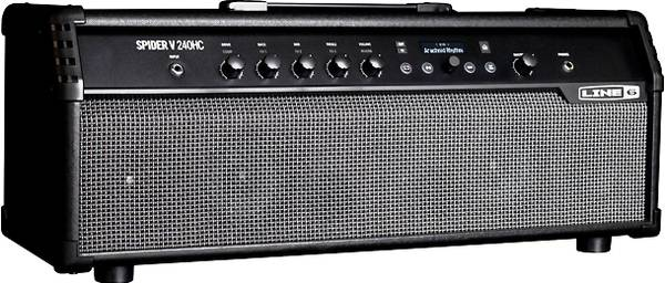 Photo Line 6 Spider V 240-Watt Guitar Head, Foot Controller, And Cover - $675 (State College)