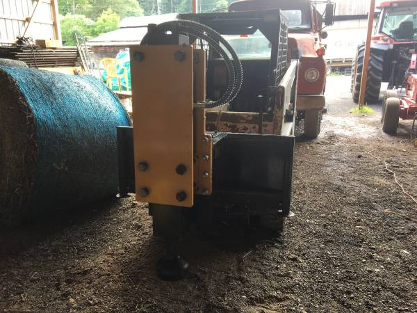 Photo NEW AGROTK 750 IMPACT POST POUNDER UNIVERSAL SKID STEER QUICK ATTACH - $3,990 (Beech Creek)