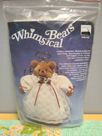 Photo NEW VINTAGE Whimsical Bears CHRISTMAS Tree Topper Kit - $12 (Red Lion, PA)