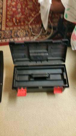 Photo Plastic tool box - $15 (State College)