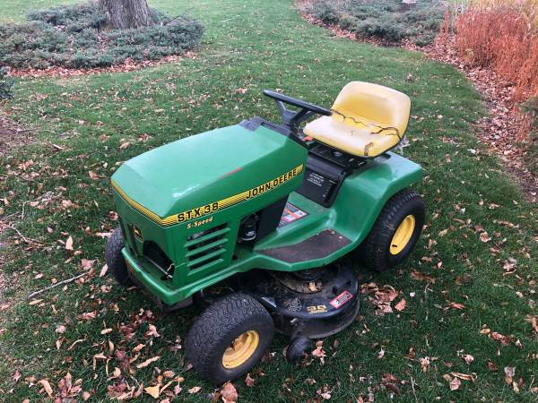Photo Price Reduced - John Deere STX38 Lawn Mower - $500 (State College)