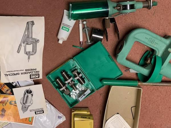 Photo RCBS Reloader Press Kit - $150 (BELLEFONTE)