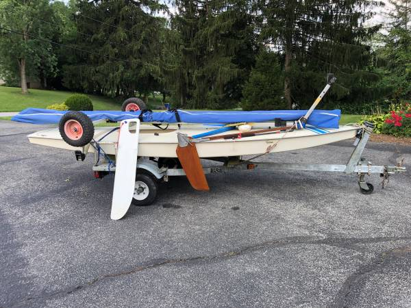 Photo Sunfish sailboat - $2,000