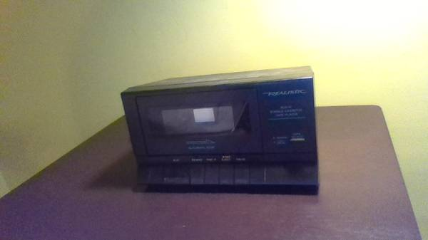 Photo Tape Deck-Realistic SCP-31 Stereo Cassette Player - $25 (State College)