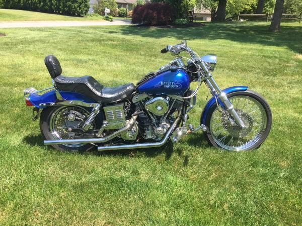 Photo Vintage Harley, 1981 fxwg - $8,550 (Shiloh)