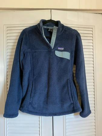 Photo Women39s Patagonia Retool Snap T Pullover Fleece Medium Stone Blue - $60 (State College, PA)