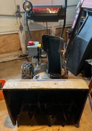 Photo Yard Machines MTD Snow Blower Snow Thrower - $130 (State College)