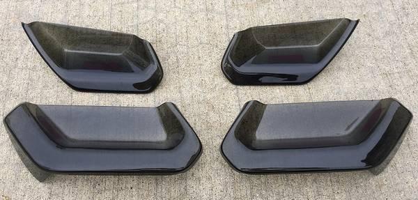 Photo 2014-2019 C7 Corvette Molded Acrylic Tail Light Blackouts Lens Package - $115 (PENSACOLA)