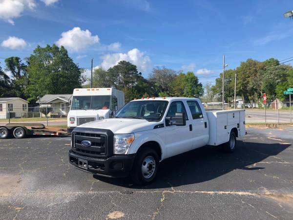 Photo 2015 Ford F-350 Crew w Knapheide Utility Bed, Like New Condition - $27975 (Pensacola)