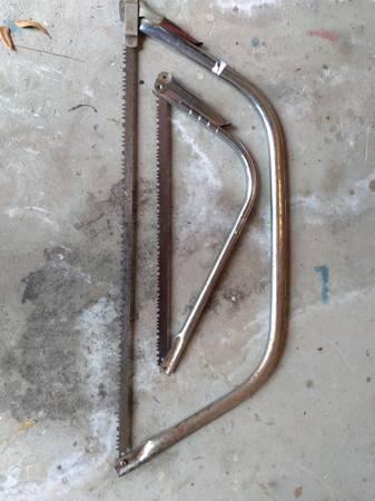 Photo 2 bow saws Craftsman USA - $13 (Pensacola)