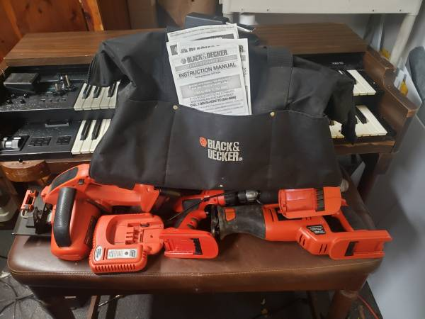 Photo Black and decker tools - $75 (Pensacola)