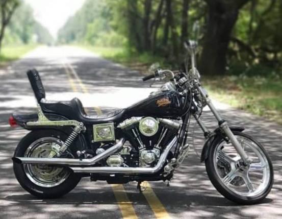 Photo Custom 2000 Harley Davidson FXDWG Dyna Wide Glide - $5,400 (Elberta)