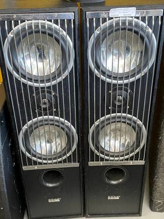 Photo DOGG Digital Audio Home Speakers - $280 (3101 Wgt Fairfield Dr.)