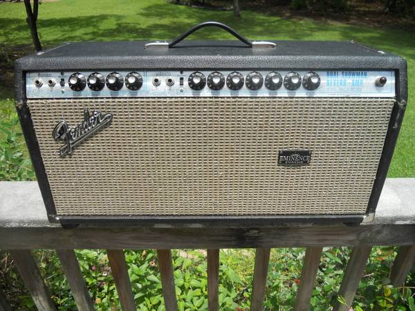 Photo Fender Dual Showman Reverb - $1,050 (Gulf Breeze)