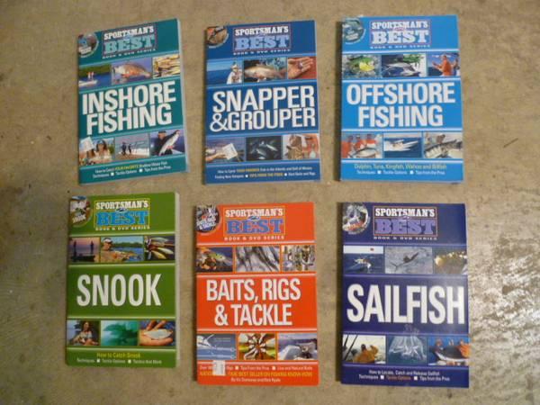 Photo Florida Sportsman Mag quotBestquot Fishing BooksDVDs, New, $20 retail - $5 (SW PensacolaWarrington)