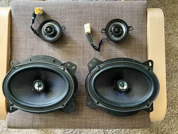 Photo Focal 6quot x 9quot 150W RMS Coaxial Speakers  JL Audio C2-350x 3.5-Inch 2 - $150 (NAVARRE)
