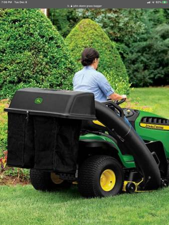 Photo Grass bagger kit - $150 (Navarre)