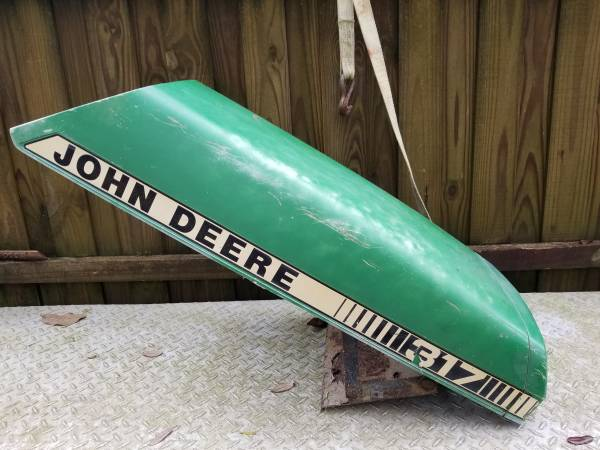 Photo John Deer riding lawnmower hood - $40 (Pensacola)