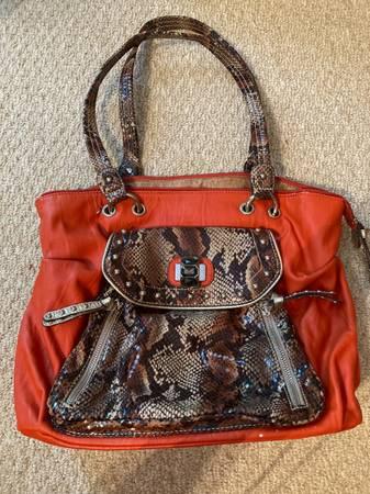 Photo Kathy Van Zeeland orange purse - $9 (Milton)